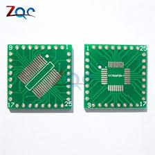 <b>5PCS QFP</b>/<b>TQFP</b>/LQFP/FQFP/SOP/SSOP32 to DIP Adapter PCB ...