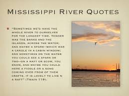 River Symbolism In Huck Finn Quotes - river symbolism in huck finn ... via Relatably.com
