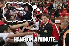 The best memes as Louis van Gaal's Manchester United crash out of ... via Relatably.com