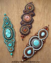 Beautiful embroiderd <b>jewelry</b> by Nataly Uhrin (Part 5) (с ...