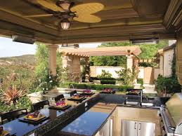 patio outdoor stone kitchen bar: outdoor kitchen countertops options stone