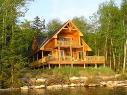 Waterfront Home Plans   Rustic Waterfront House Plan Design   H    Waterfront Home  H