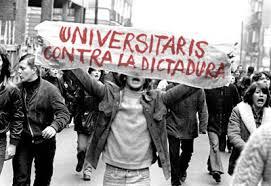 Resultado de imagen de fotos de las manifestaciones en el franquismo