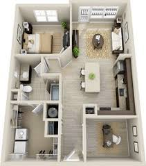 "One "" "" Bedroom Apartment House Plans   One Bedroom  Bedroom    A one bedroom apartment fit for an executive  this one bedroom and one bathroom apartment"