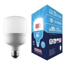 <b>Лампа LED</b> сверхмощная (UL-00006789) <b>Volpe E27 40W</b> (360W ...