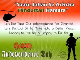 Happy Independence Day Quotes For India, Images, Pics via Relatably.com