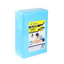 <b>Блок для йоги</b>, 23х15х8 см, SILAPRO, купить недорого в интернет ...