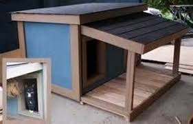 Types xg ql  mm com   dog house plans   porchInsulated dog house plans total large dog   covered