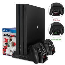 Зарядное устройство PS4/PS4 Slim/PS4 Pro двойной контроллер ...