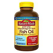 Nature Made 1,400mg <b>Ultra Omega-3 Fish Oil</b> - BJs WholeSale Club