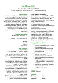 resume templates  resume examples  samples  cv  resume format    a hotel manager resume template that is well laid out  has a eye catching design