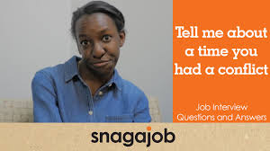 job interview questions and answers part tell me about a job interview questions and answers part 15 tell me about a time you had a conflict