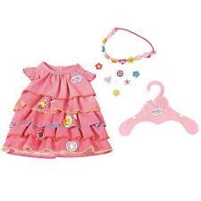 """Комплект для куклы """"<b>Платье</b>, ободок и украшение"""" <b>Zapf Creation</b> ..."""