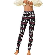 JESFFER Women's Workout Leggings Christmas ... - Amazon.com