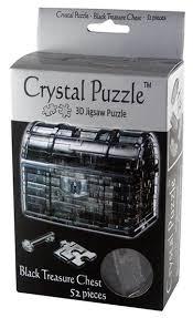 Купить <b>3D</b>-<b>пазл Crystal Puzzle</b> Пиратский сундук (90017), 52 дет ...