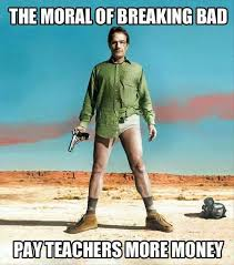 The Breaking Bad Finale's Best Memes & Callback -- Vulture via Relatably.com