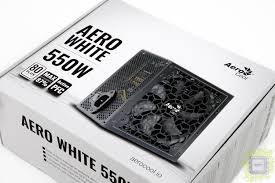 Обзор <b>блока питания</b> Aero White 550W (550 Вт, 80Plus)