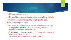 distal radial fractures in young goalkeepers a case for an 8 results