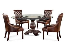 Tufted Leather Dining Room Chairs Tufted Dining Chairs For The Dining Room Oknow
