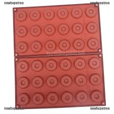 44% OFF NTPH <b>18 Cavity</b> Silicone <b>Donuts</b> Mold Mini Biscuit Cake ...
