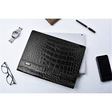 Shop <b>Crocodile</b> Cowhide <b>Genuine Leather</b> Case for Microsoft 2018 ...