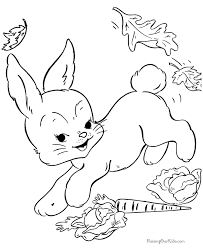 Small Picture Easter bunny coloring pages free 010