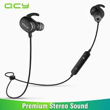 [ 30% Off ] <b>QCY QY19 Bluetooth</b> Headset with Mic Wireless ...
