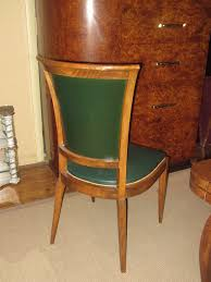 set of eight french art deco dining chairs 3 art deco dining chairs