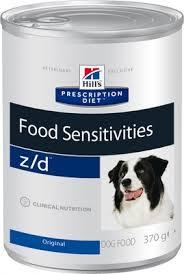 <b>Hill's</b> вет.<b>консервы Prescription Diet</b> z/d Food Sensitivities ...