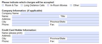 best western credit card authorization form template best western credit card authorization form part 2