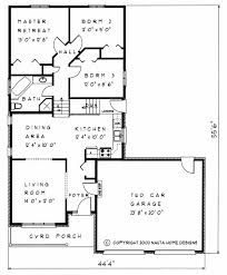 Bedroom Backsplit House Plan BS   Sq FeetHouse Plan   BS