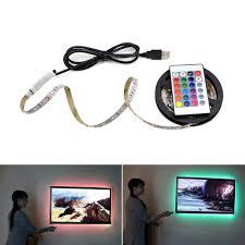 USB LED Strip lamp <b>2835SMD DC5V</b> Flexible LED light Tape ...