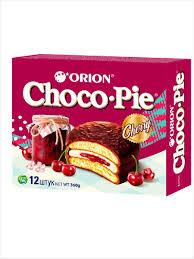 <b>Пирожное</b> в шоколадной глазури <b>Choco Pie</b> Cherry (Чокопай ...