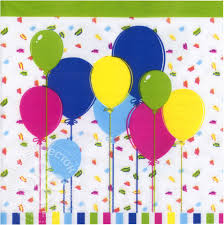 Купить <b>Салфетки</b> бумажные <b>Duni Balloons and</b> Confetti 3 слоя 33 ...