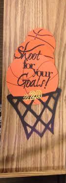 best ideas about basketball crafts basketball locker decoration for basketball season for basketball buddies how cute