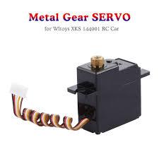 Metal Gear Digital Servo for <b>WLtoys XKS 144001</b> RC Buggy Racing ...