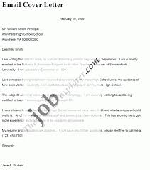 how to write an email cover letter cover letter sample gallery of how to write an email cover letter