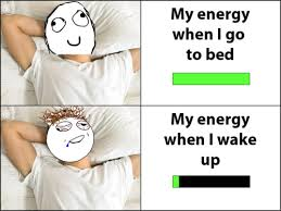 Funny Meme - Energy Levels via Relatably.com