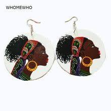 Shop <b>African</b> Hair <b>Wooden</b> Earrings - Great deals on <b>African</b> Hair ...