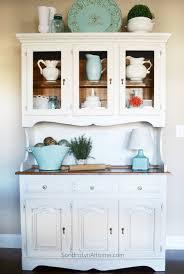 ideas china hutch decor pinterest: chalk painted hutch sondra lyn at home w