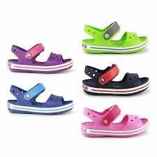 Crocs Crocband Kids Sandals Boys Girls <b>Summer Beach</b> Touch ...