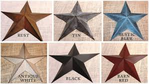 metal star wall decor:  large metal tin barn star wall decor by thelittlebarnco