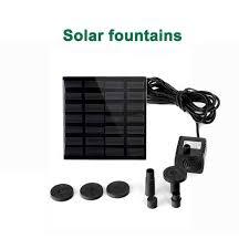 2019 Newest 9V <b>1.5W</b> Separating <b>Solar Fountain Garden</b> Water ...