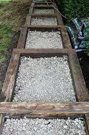 patio steps pea size x: we had originally thought we might just put pea gravel in each step or maybe brick each one but after further thought we decided to have concrete poured