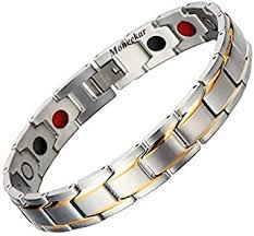 Titanium - Bracelets & Kadas / Men: Jewellery - Amazon.in