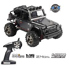 Tecesy <b>RC</b> Truck <b>1/16</b> Scale <b>Electric</b> Jeep 4WD 2.4Ghz Off-Road ...