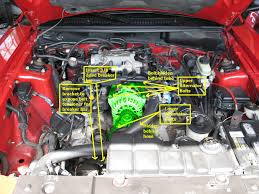 2000 mustang gt alternator wiring diagram 2000 99 01 pi to pi intake manifold swap writeup mustang forums at on 2000 mustang gt mustang alternator wiring diagram