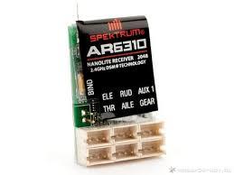 <b>Приемник Spektrum</b> AR6310 DSMX Nanolite 2.4GHz <b>6</b> каналов