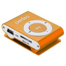 <b>Плеер</b> mp3 <b>perfeo titanium lite</b> orange купить за 290 руб. в Санкт ...