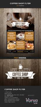 flyer templates for your church or spiritual event promotion coffee shop flyer template design graphicriver net